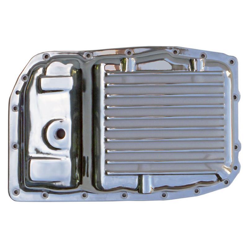 Transmission Pan, GM 6L80, 6L80E Stock Capacity, Polished