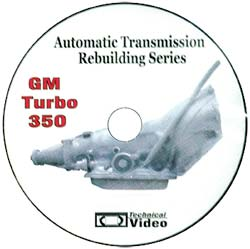 GM 350 Transmission Rebuild DVD