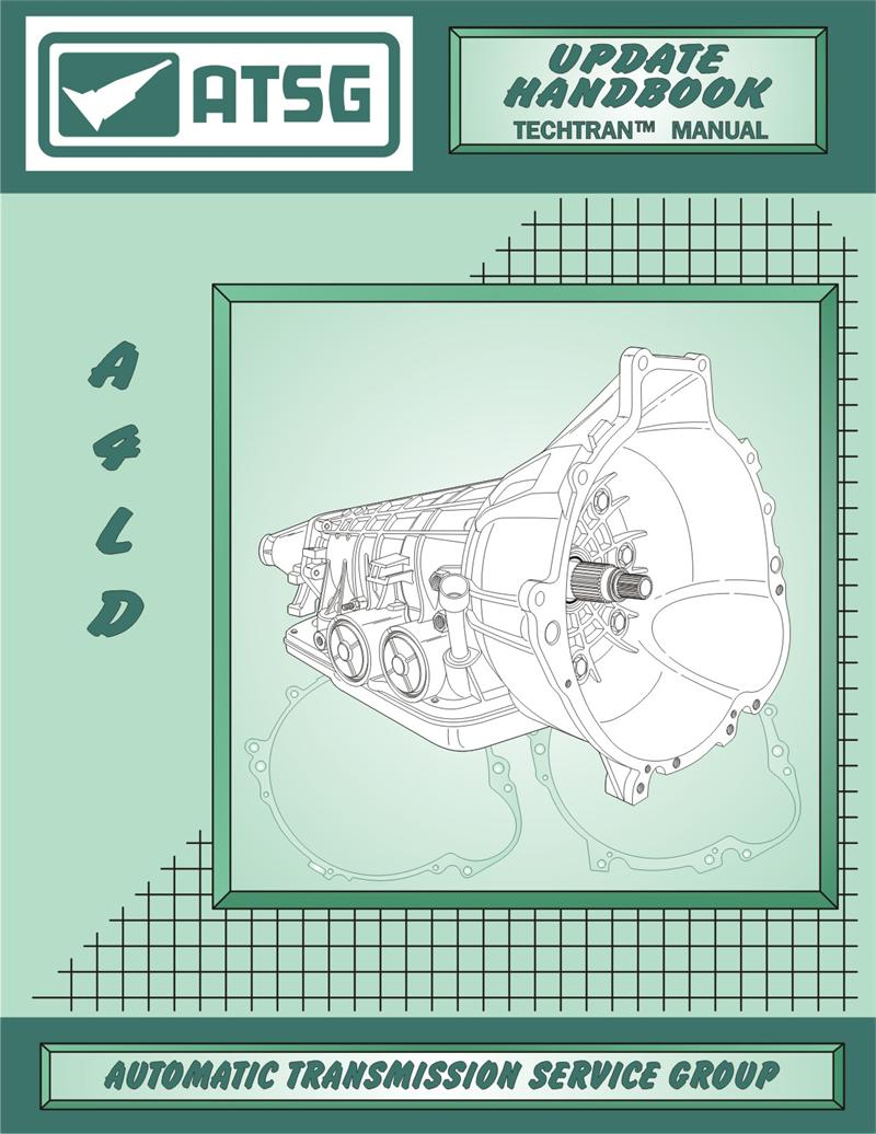 Repair, Rebuild, Technical, Manual, A4LD, Update Handbook