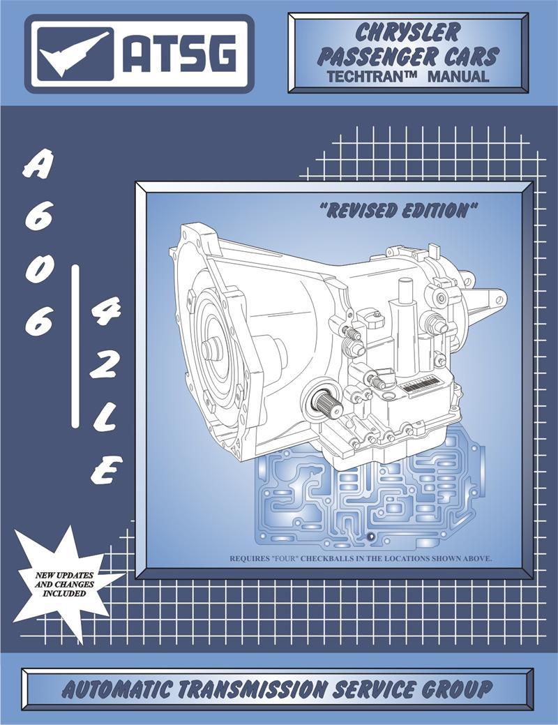 Chrysler A606 (42LE) Transmission Rebuild Manual on
