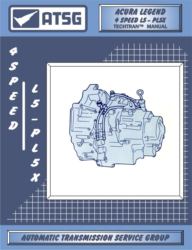 Acura Legend 4 Speed L5 Transmission Rebuild Manual.