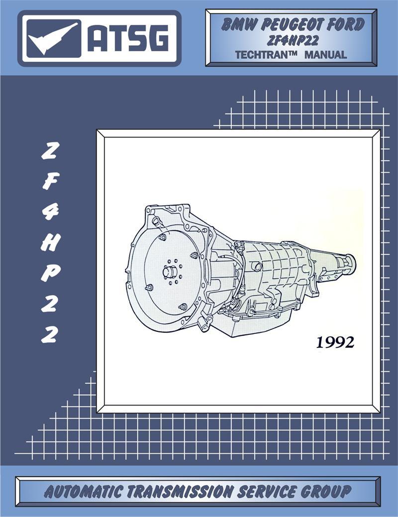 Repair, Rebuild, Technical, Manual, ZF4HP22