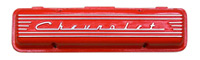red,Valve Cover,Chevrolet Small Block