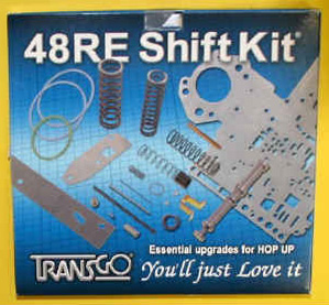 Transgo Stage 2 Shift Kit - Late 2003-Up - Diesel & V10 Only
