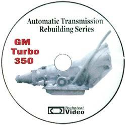 Repair Manual DVD, 350 : TAT   Auto & Transmission Repair