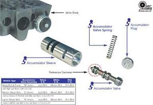 Accumulator Valve Train Assembly, Heavy Vehicles