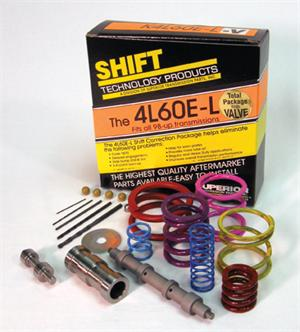 Shift Correction Package 4L60E-Late Kit with valve for GM