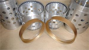 Ring Set, ZF-8HP, 2pc Kit, Covers 4Drum Sizes