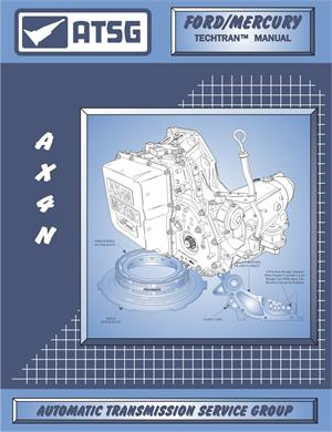 FORD AX4N Transmission Rebuild Manual