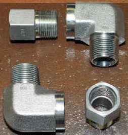 Four Fittings for Allison 1000 Transmission Cooler