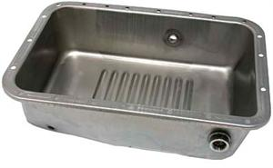 Oil Pan, Deep - Ribbed with heater hole