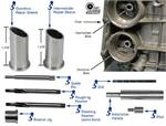 Overdrive and Intermediate Servo Pin Bore Sleeve Kit - 5R55S, 5R55W