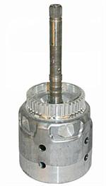 Input Drum & Shaft no Pilot (298mm, 30 Spl. TC) (w/ Reluctor) 05-Up 700R4, 4L60E-65E