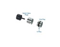 Oversized Solenoid Switch Valve Plug Kit, Non-VLP units 90-Up