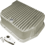 Transmission Deep Pan, Powerglide, Dodge, A727/ 36RH/ 37RH, +6-1/2 qts,  A518/ 46RH/ 46RE, +4 qt,1966-2003