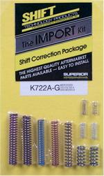 Shift Correction Package 722.3 & 722.4 Gas Kit for Imports