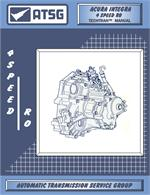 Acura Integra 4 Speed RO Transmission Rebuild Manual