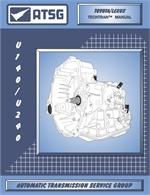 Toyota U140/U240 Transmission Rebuild Manual