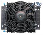 Cooler,Transmission,Remote Cooler w/Fan(13 3/4 x 11 x 3 1/2 w/Push-on Fitting)